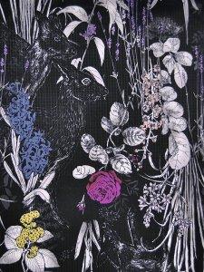 Rumi Rockきもの「パフュームの森」
