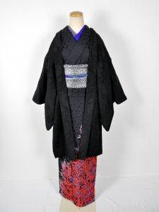 Rumi Rockレディス羽織 ブラックペイズリー