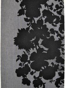 Rumi Rock木綿きもの 「花と虫」グレー