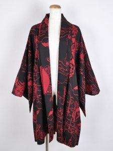 【男女兼用】Rumi Rock注染ゆかた羽織 「ワラキアのドラキュラ」