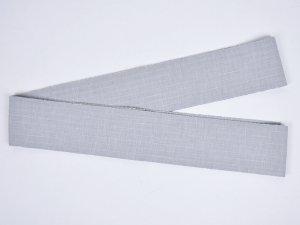 片貝木綿角帯 ライトグレー