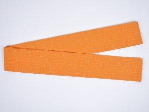 片貝木綿角帯 オレンジ