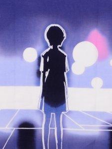 手ぬぐい 制服綾波 Rumi Rock × ヱヴァンゲリヲン新劇場版