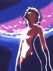 手ぬぐい 月に渚カヲル Rumi Rock × ヱヴァンゲリヲン新劇場版