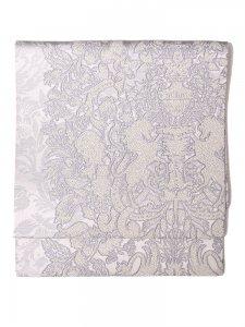 Rumi Rock西陣織袋帯 ユニコーン ホワイト
