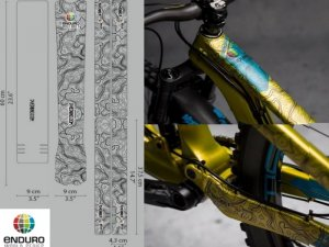 <img class='new_mark_img1' src='https://img.shop-pro.jp/img/new/icons1.gif' style='border:none;display:inline;margin:0px;padding:0px;width:auto;' />【 DYEDBRO 】 BIKE FRAME PROTECTION (バイクフレームプロテクションキット) EWS BLACK
