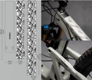 <img class='new_mark_img1' src='https://img.shop-pro.jp/img/new/icons1.gif' style='border:none;display:inline;margin:0px;padding:0px;width:auto;' />【 DYEDBRO 】 BIKE FRAME PROTECTION (バイクフレームプロテクションキット) GEOMETRIC