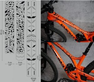 <img class='new_mark_img1' src='https://img.shop-pro.jp/img/new/icons1.gif' style='border:none;display:inline;margin:0px;padding:0px;width:auto;' />【 DYEDBRO 】 BIKE FRAME PROTECTION (バイクフレームプロテクションキット)Sergio Layos
