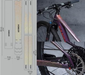 <img class='new_mark_img1' src='https://img.shop-pro.jp/img/new/icons1.gif' style='border:none;display:inline;margin:0px;padding:0px;width:auto;' />【 DYEDBRO 】  BIKE FRAME PROTECTION  (バイクフレームプロテクションキット)STAY FREE COLOR
