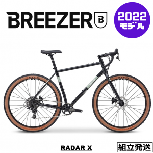 <img class='new_mark_img1' src='https://img.shop-pro.jp/img/new/icons1.gif' style='border:none;display:inline;margin:0px;padding:0px;width:auto;' />【ご予約受付中】【2021-2022年モデル】BREEZER BIKES (ブリーザー バイクス) RADAR X (レイダーX)