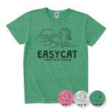 波乗りEASY CAT<br>トライブレンド<br>ヘザーTシャツ<br>