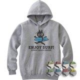 ENJOY SURF CAT<br>裏毛スウェットパーカ<br>