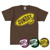 SUNDAY BORD LOGO<br>ヘビーウェイト<br>スタンダードキッズTシャツ<br>