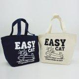 ロングボードEASY CAT<br>12oz キャンバスミニトートバッグ<br>