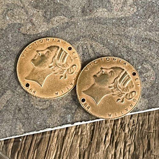 PRS-179</br>真鍮コイン 18ミリ