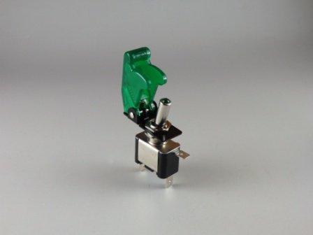 LED ミサイルトグルスイッチ グリーン 緑