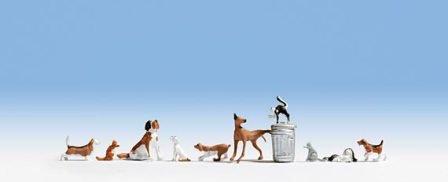 Nゲージ 犬と猫 NOCH 36715
