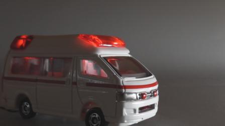 Blink Mini LED点滅回路完成品 緊急自動車赤色灯