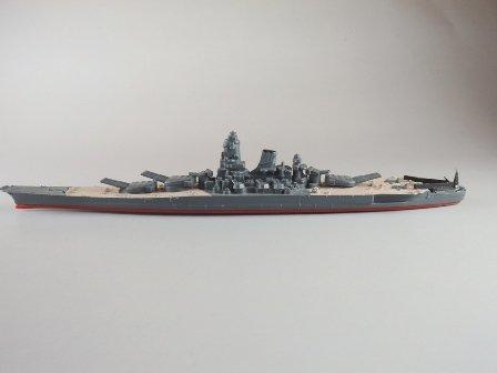 ビンテージ MINIC SHIPS 1/1200 戦艦大和 ミニチュアダイキャスト