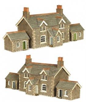 ヨーロッパの街並みペーパークラフト 1/150 Nゲージ 木組みの家 , 模型電子部品ショップ MSR