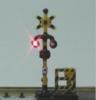 光センサー踏切警報機 追加信号警報機