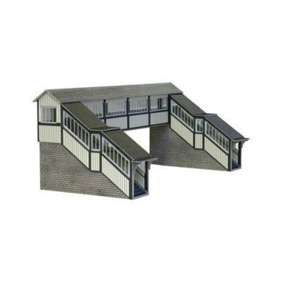 HOゲージ用 英国 MetcalfeL 社製 越線橋 ペーパークラフト