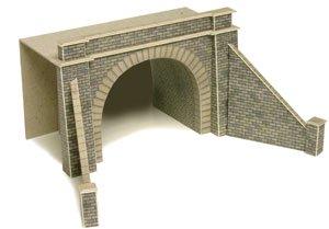複線用トンネルポータル