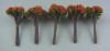 ジオラマ用樹木  20mm 紅色 10本入り