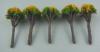 ジオラマ用模型樹木 20mm   やまぶき色 10本入り