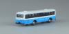 Nゲージ 路線バス 水色・白ツートーンカラー