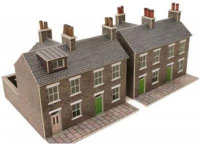 石造りテラスハウス2軒セット