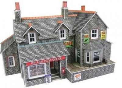 町のカフェとショップ