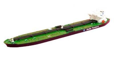 1/1200 タンカー船模型 Delta Tankers Victory