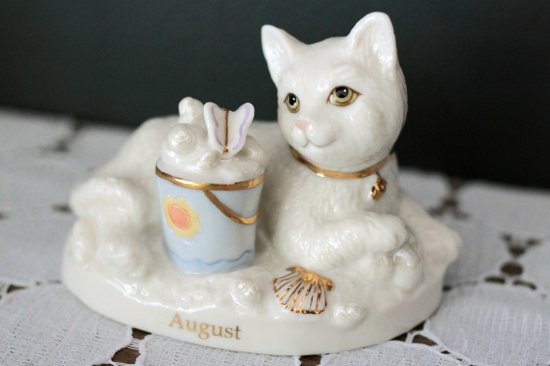 """【 Lenox 】カレンダーキャット """"August"""" サマービーチ"""