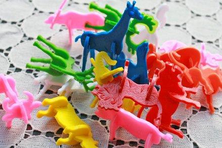 プラスチック製 組み立てアニマル(動物立体パズル)アソート12ヶ入
