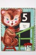 ヴィンテージカード|茶ネコのレッスン