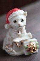 "【 Lenox 】カレンダーキャット ""December"""