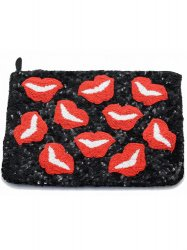 SANTI /Lip Clutch BK�