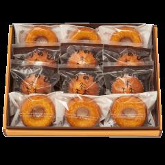 もりのひ。&ドーナツギフトM(オレンジ箱)<冷蔵発送>
