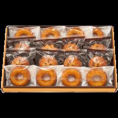 もりのひ。&ドーナツギフトL(オレンジ箱)<冷蔵発送>