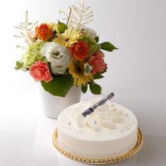 フルール・フロマージュ<冷凍配送> イエロー系のお花と一緒に ♪
