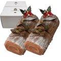 生チョコノエル長さ約15cm2箱セット【クリスマスケーキ】