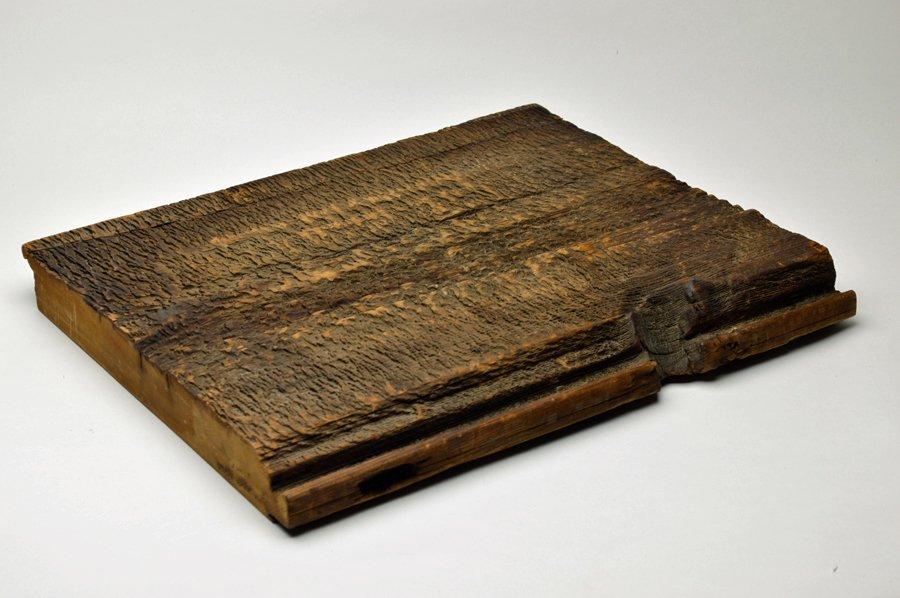 北円堂古材敷板