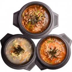 韓国雑炊クッパの素 3種セット(クッパ・カルビクッパ・ユッケジャンクッパ 各230g入)