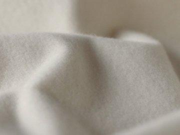 【ハギレ】無添加 無漂白 平織 両面起毛フランネル生成#572 6m以上