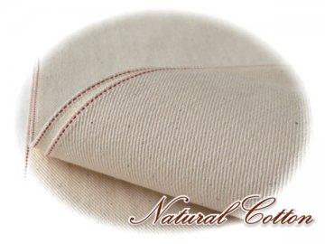 綿 ツイル帆布 広巾 赤耳 長88cm 生成 11号#679