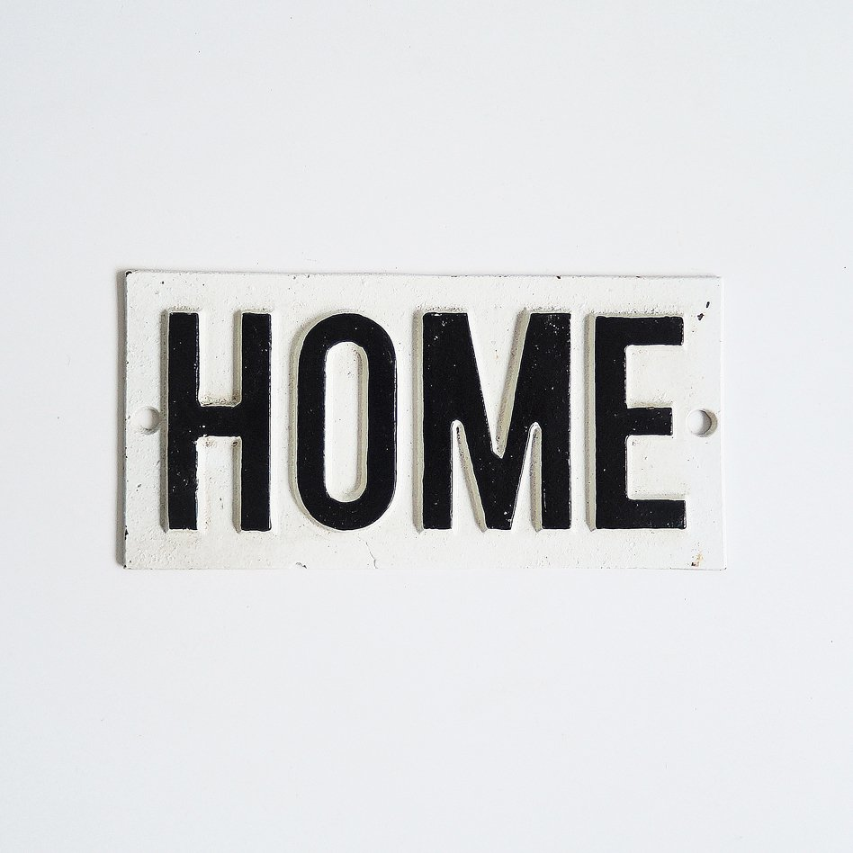 サイン(HOME)