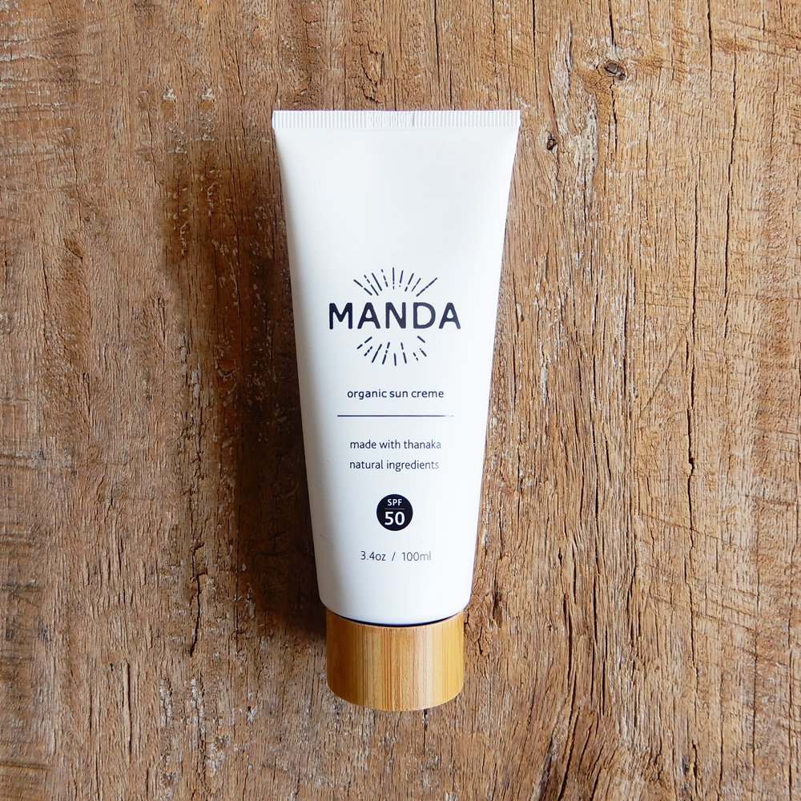MANDA Organic Sun Cream 全身用 (SPF 50)