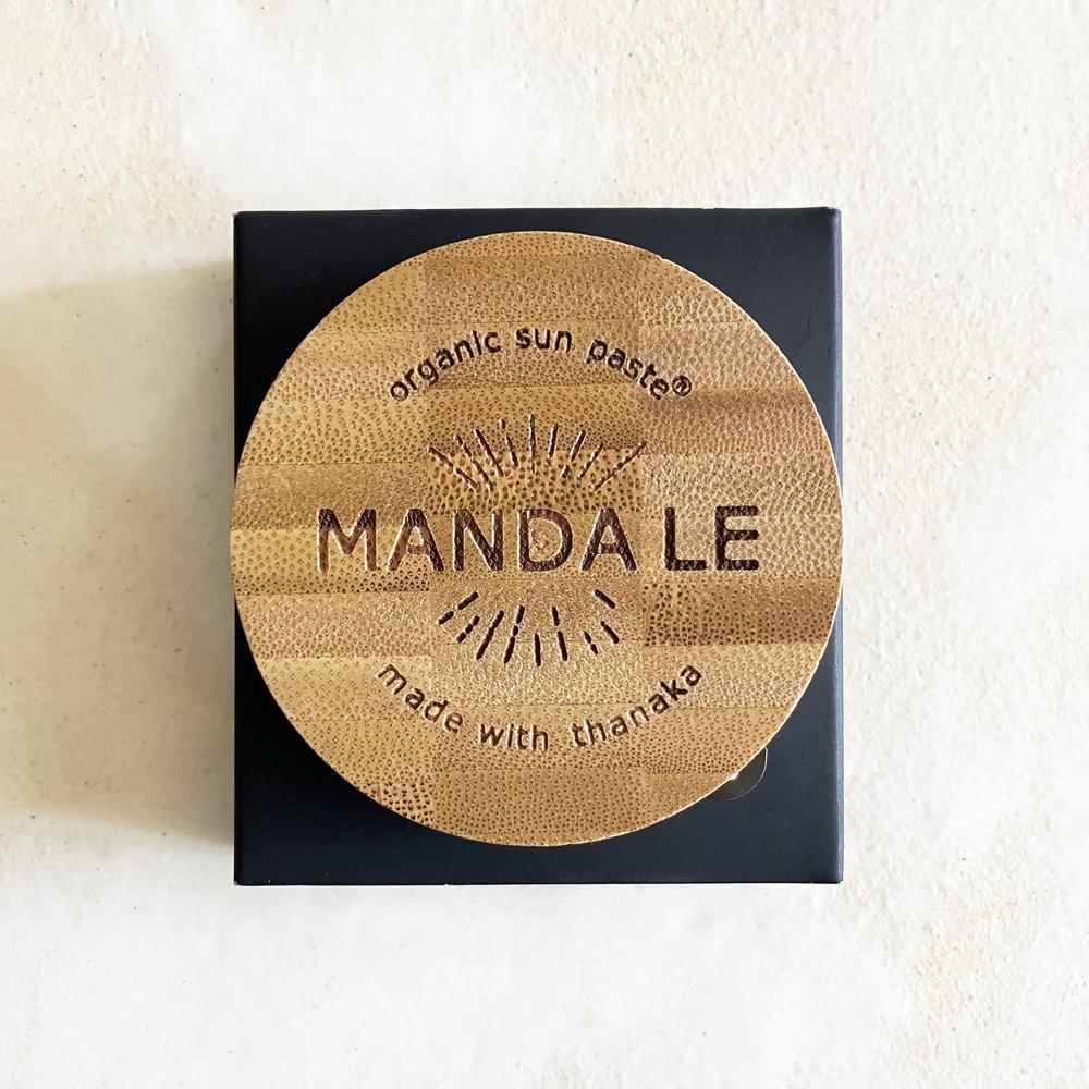 MANDA Organic Sun Paste 顔用 (SPF 50)