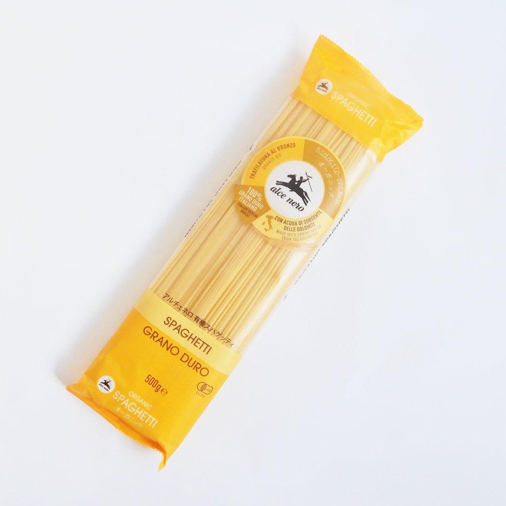 アルチェネロ  有機スパゲッティーニ(太さ 1.4mm)500g